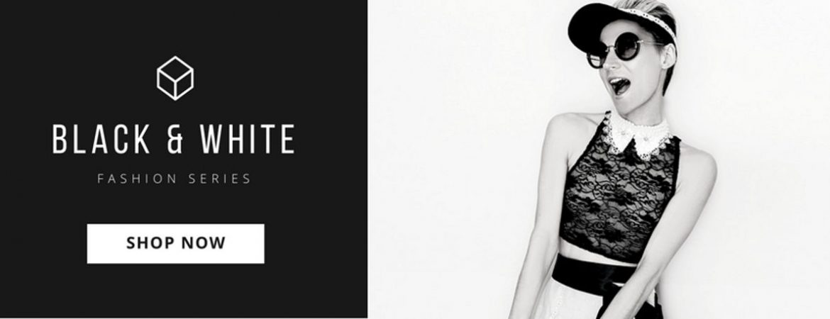 Black And White Fashion Sale