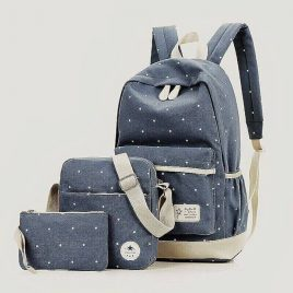3-in-1 Back Pack Set