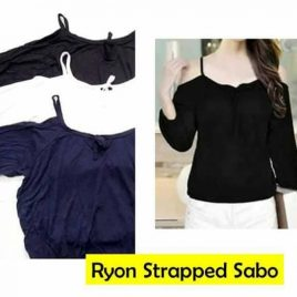 Ryon Strapped Sabo Blouse