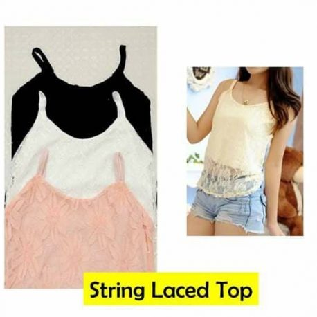 String Laced Top
