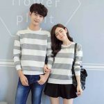 Zian Couple Tee Gray