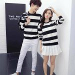 Zian Couple Tee Black
